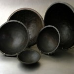 bowls - ebonized