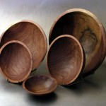 black walnut bowls