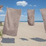 glo Stripe Mushroom Towel Set - Beachside