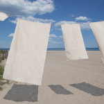 glo Stripe Natural Towel Set - Beachside