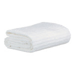 glo Stripe White Bath Sheet