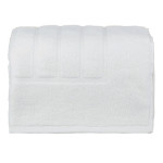 glo Stripe white Bath Mat