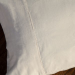 glo Twill Flannel Natural Pillowcase